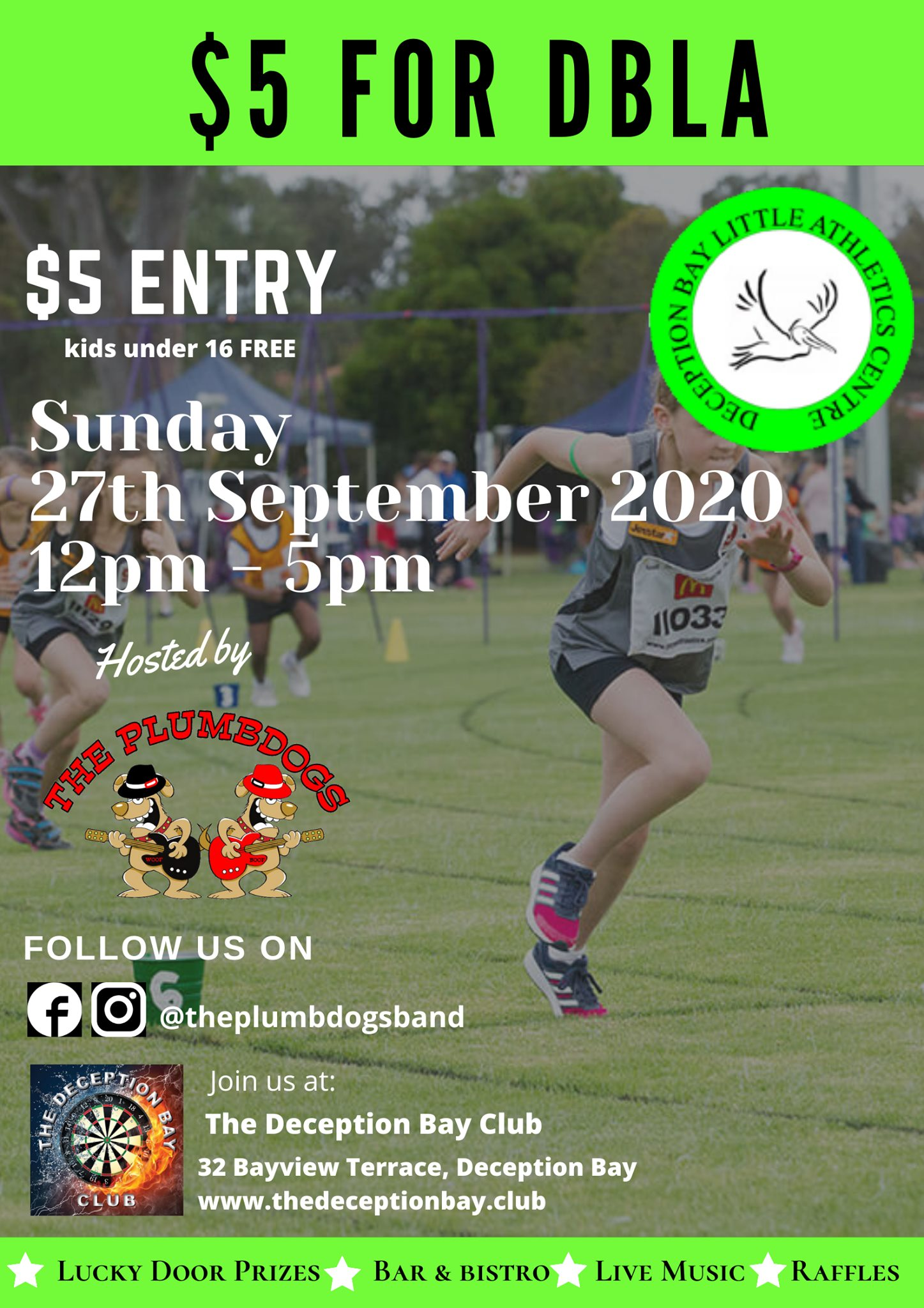 $5 For Charity - Deception Bay Little Athletics