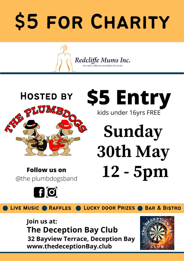 $5 For Charity - Redcliffe Mums